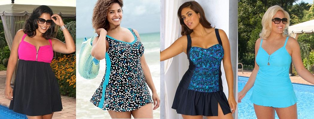 Пляжная Одежда Для Полных Интернет Магазин