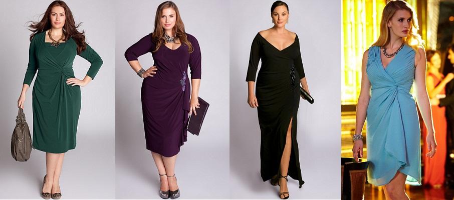 Платья для фигуры яблоко для женщин за 30
